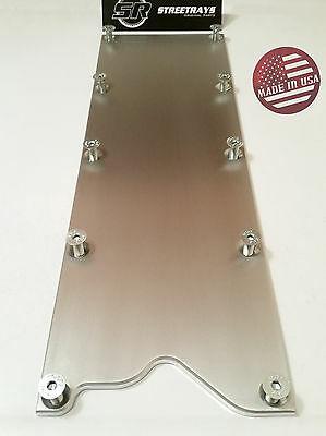 LS Gen 3 VALLEY PAN Cover with GASKET Plate Billet Knock Sensor Delete LSX LS1